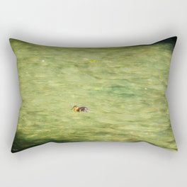 Little Swimmer Rectangular Pillow