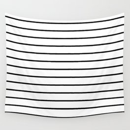 Minimalist Stripes Wall Tapestry