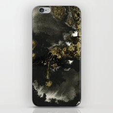 Black and Gold II iPhone & iPod Skin