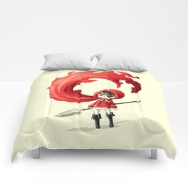 Red Cape Comforters