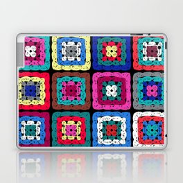 Granny Square Laptop & iPad Skin