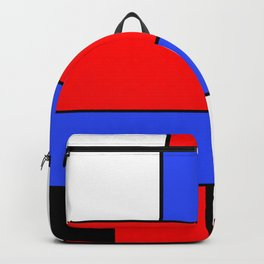 Mondrian #51 Backpack