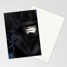 Invisible man Stationery Cards