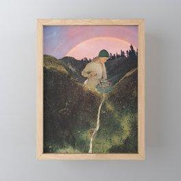 Mineral Spring Framed Mini Art Print