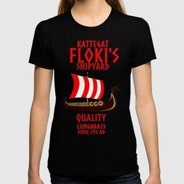 Viking Kattegat Floki T-shirt