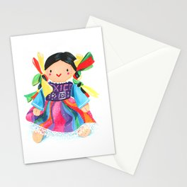 Little Mexican Doll Stationery Cards