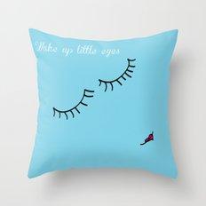 Little Eyes Throw Pillow