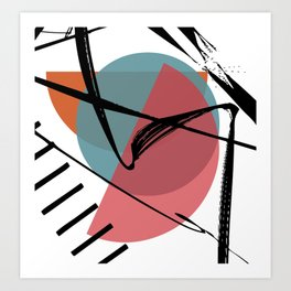 Torn Shackles Art Print