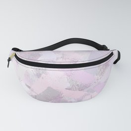Abstract Painted Brush Strokes Fanny Pack