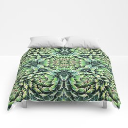 Succulent Splendor Three Comforters