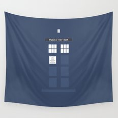 Tardis ( Doctor Who ) Wall Tapestry