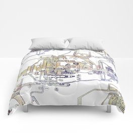 Mechanical Diagram Comforters