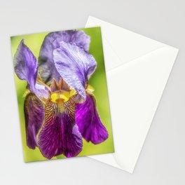 Purple Iris 2018 Stationery Cards