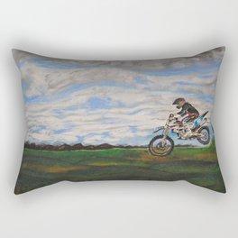 Moto Jump  Rectangular Pillow