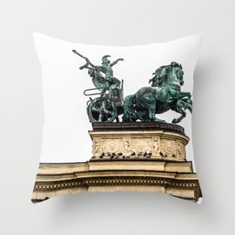 The Chariot. Throw Pillow