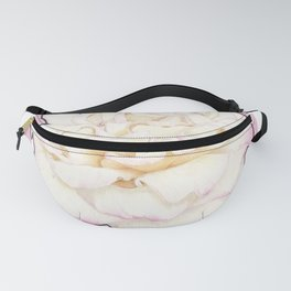 Pale Rose on Stripes Fanny Pack