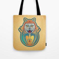 Gato diabólico  Tote Bag