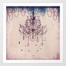 The Chandelier Art Print
