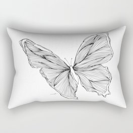 Butterfly Go Fly 1 Rectangular Pillow