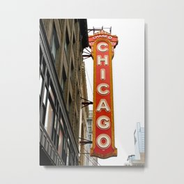 Chicago Theater 1 Metal Print