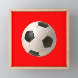 Soccerball Framed Mini Art Print