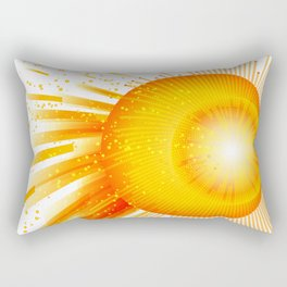 Sunstorm - Tormenta solar Rectangular Pillow