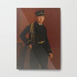 Achille De Gas in the Uniform of a Cadet Metal Print