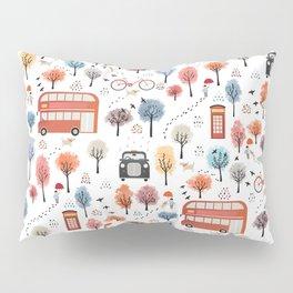 London transport Pillow Sham