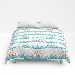 Sunrise Surf Comforters