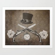 Steampunk or Death Art Print