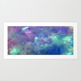 Space Nebula Art Print