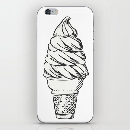 Vanilla Ice Cream iPhone & iPod Skin