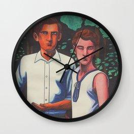 Siegfried and Stephen Wall Clock