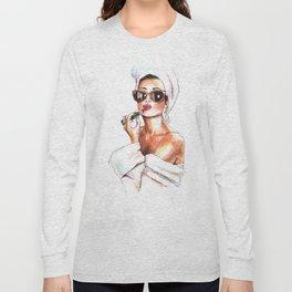 Fashion Lady Long Sleeve T-shirt