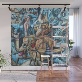 The Sea In The Fish Wall Mural