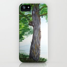 Painted Tree iPhone Case