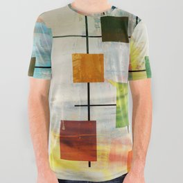 MidMod Graffiti 4.0 All Over Graphic Tee