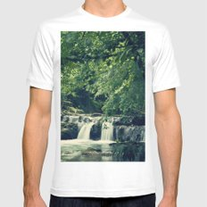Rio en Tabira Mens Fitted Tee MEDIUM White