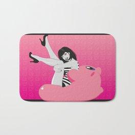 Geekette sur Kirby Bath Mat
