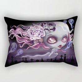 Ghostly Luna Rectangular Pillow