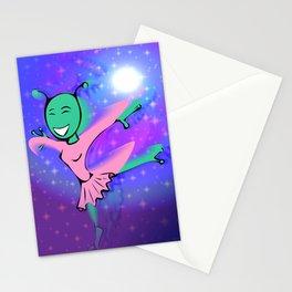Alien Ballerina Stationery Cards