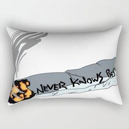 FLCL Never Knows Best Cig Rectangular Pillow