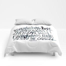 Psalm 36:5 Comforters