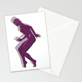MagentaLady_3 Stationery Cards