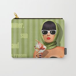 Summer love, summer ... sun and ice cream Carry-All Pouch
