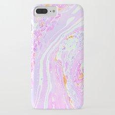Marble Pastel Pink iPhone 7 Plus Slim Case