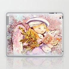 The Caroling Angel Laptop & iPad Skin