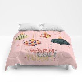 Warm, cozy & yummy Comforters