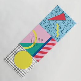 Memphis Party Yoga Mat
