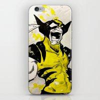 berserk iPhone & iPod Skins featuring Wolverine - Berserker by RISE Arts